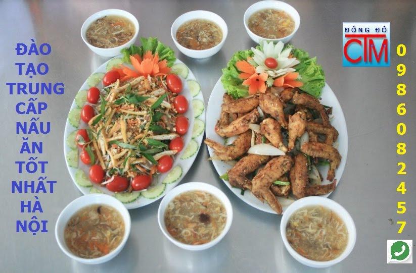 Địa chỉ đào tạo trung cấp Nấu ăn tốt nhất Hà Nội